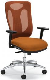 Bürodrehstuhl SITNESS 80 NET inkl. Armlehnen Orange/Orange