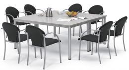 SET-ANGEBOT: 2x Konferenztisch + 8x Besucherstuhl