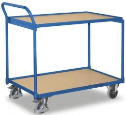 Tischwagen, mit 2 Böden Bodenmaß: 850 x 500 mm | 2