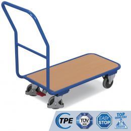 Plattformwagen, inkl. TPE & Easy Stop (200 kg Tragkraft)