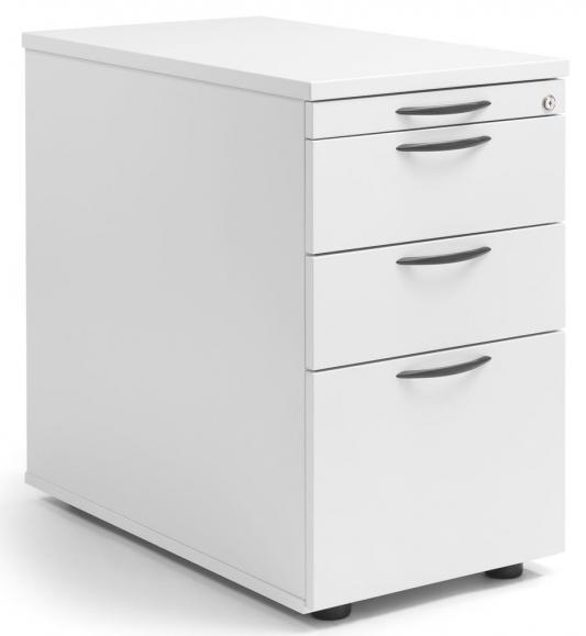 Standcontainer MULTI MODUL Weiß | 1 + 2 Schübe + Hängeregistratur