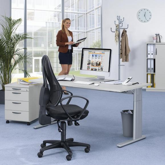 SET-Angebot Schreibtisch Comfort M und Container