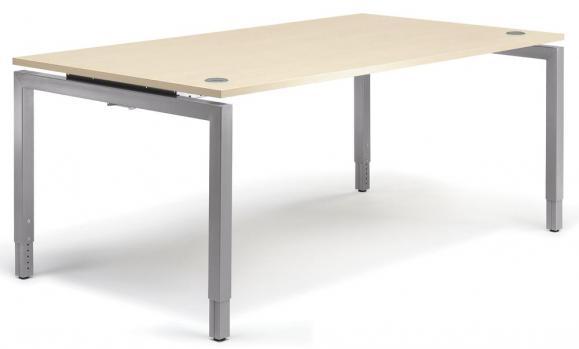 Schreibtisch 4-Fuß Comfort MULTI MODUL Ahorndekor | 1200