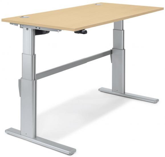 Sitz-/Stehtisch Comfort MULTI MODUL Ahorndekor | 1200 | Rechteck