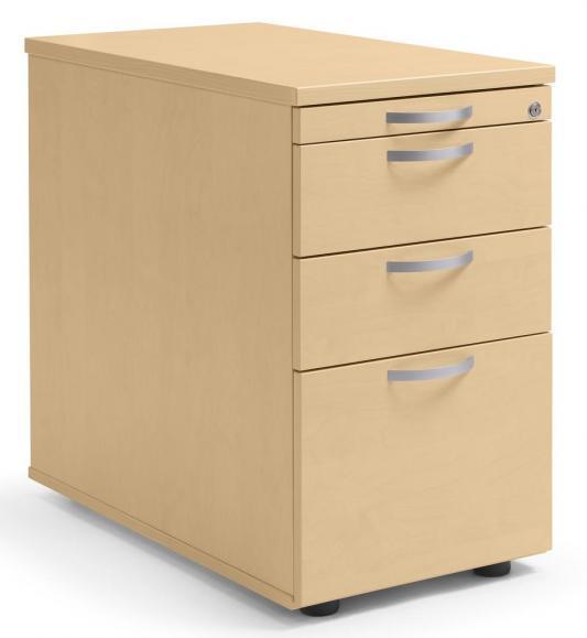 Standcontainer PROFI MODUL Buchedekor | 800 | 2 Schübe + 1 HR-Schub