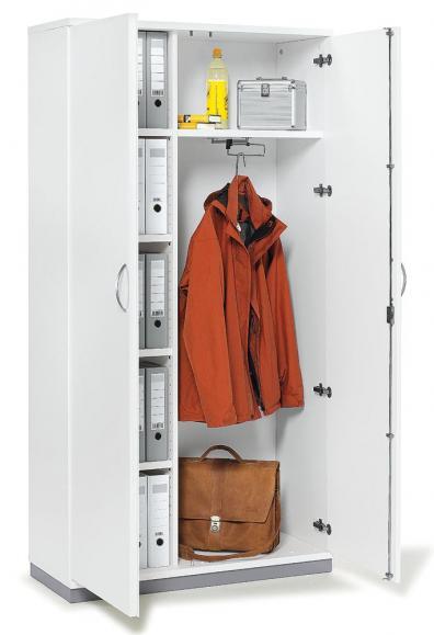 XXL-Garderobenschrank PROFI MODUL 1200 | Weiß | 1890 mm (5 OH)