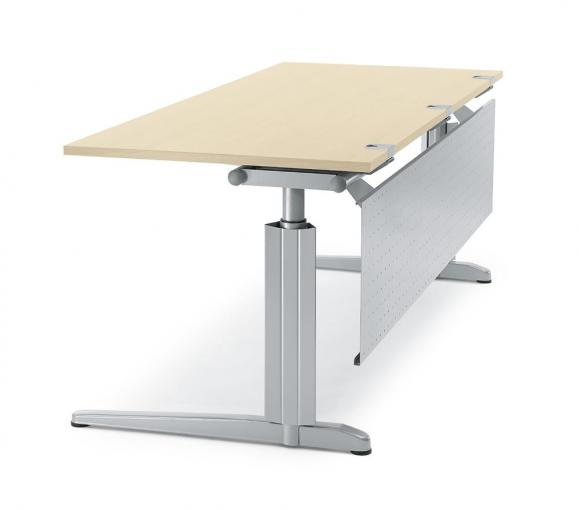Schreibtisch T-Fuß PROFI MODUL Ahorndekor | 1600