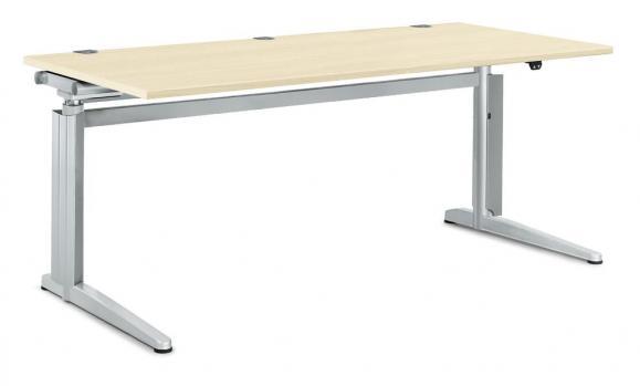 Sitz-/ Stehtisch PROFI MODUL Ahorndekor | 1600 | Rechteck