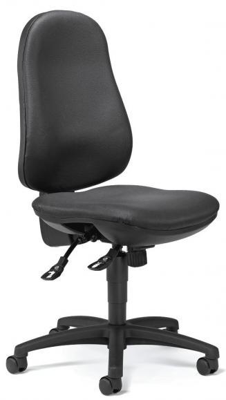 Bürodrehstuhl COMFORT S ohne Armlehnen Schwarz | ohne Armlehnen (optional)