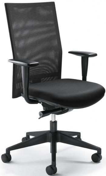 Bürodrehstuhl FLORENZ - Synchron-Mechanik