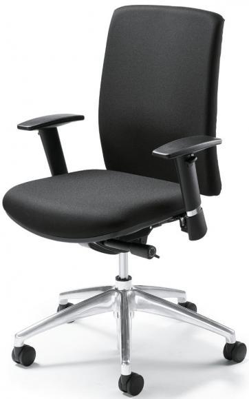 Bürodrehstuhl ROM mit Armlehnen
