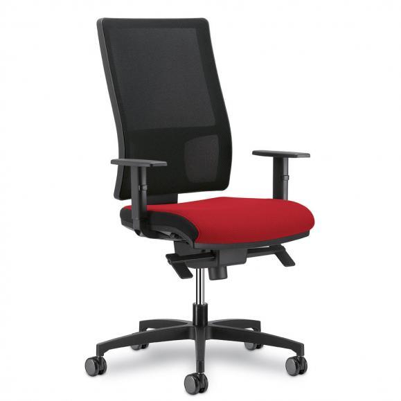 Bürodrehstuhl MESH ohne Armlehnen