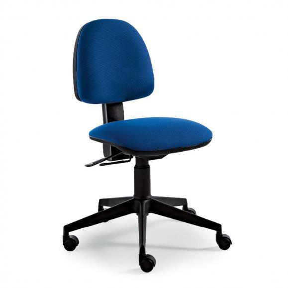 Bürodrehstuhl UP-SIDE Fußkreuz Polyamid schwarz
