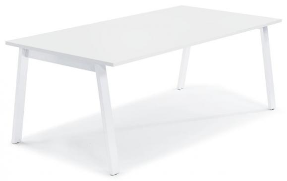 Konferenztisch DELTA RIO Weiß | 1600 | Weiß RAL 9016