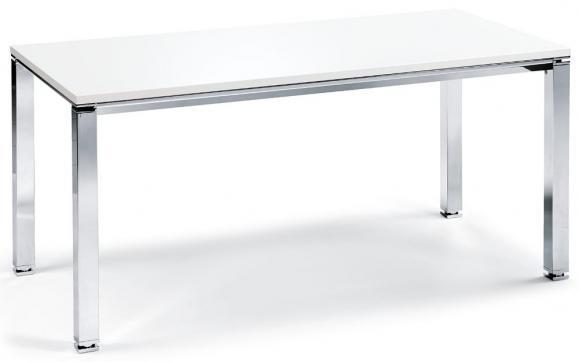 Konferenztisch DELUXE Weiß | 1200 | 1200