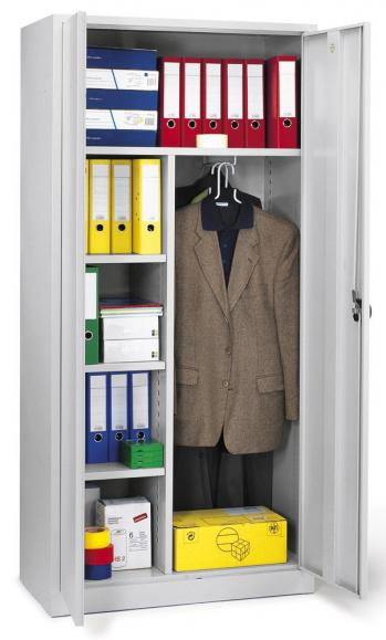 Büro-/Garderobenschrank - extra Tief