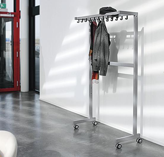 Rollen für Garderoben-System ILLIUM