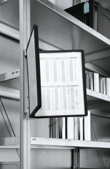 Wand-Sichttafelsystem VARIO® 5 magnetisch