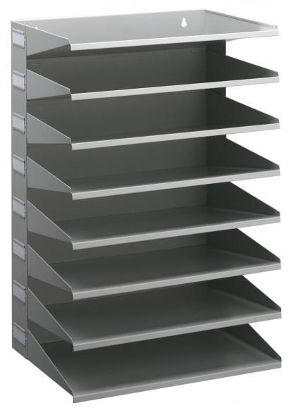 Stabile Sortierstation mit 8 Fächern