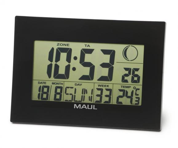 Digitale LCD-Tisch und Wanduhr