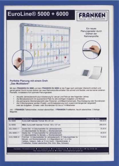 Dokumenthalter magnetisch DIN A5