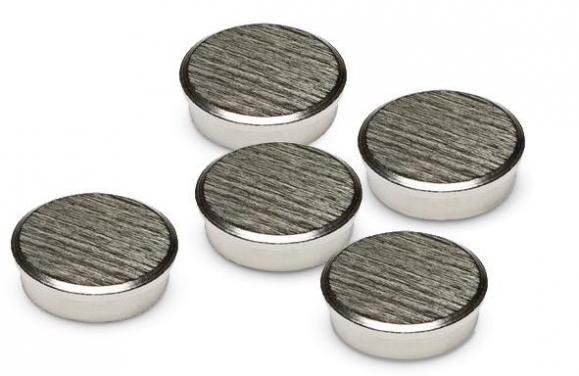 Chrom-Magnete, rund