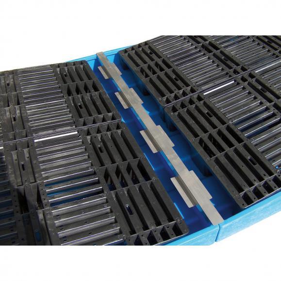 Wannenverbinder, Auffangwanne aus Polyethylen (PE)