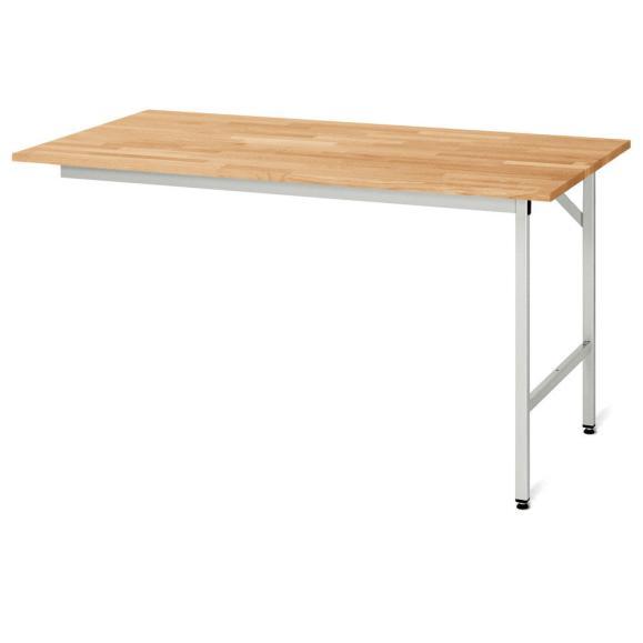 Arbeitstisch SYSTEM VK3060, Tischgestell 1 1000 | 800 | Grundtisch | Buche-Massiv-Arbeitsplatte