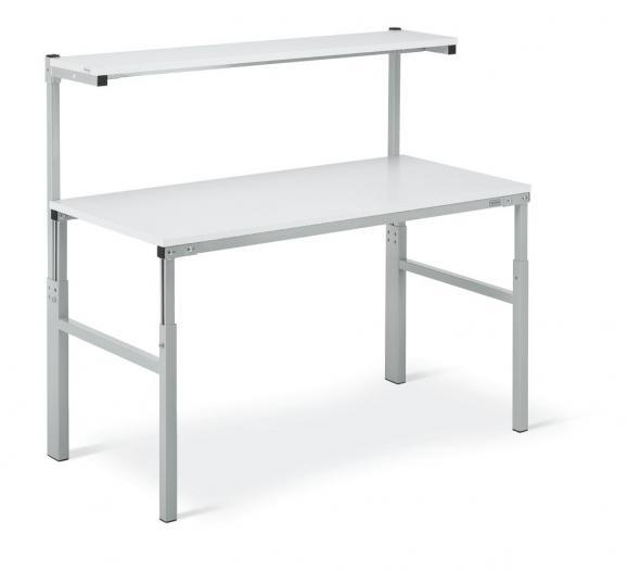Universal-Arbeitstisch ESD, mit Systemaufbau 1500 | 900 | ESD-Ausführung