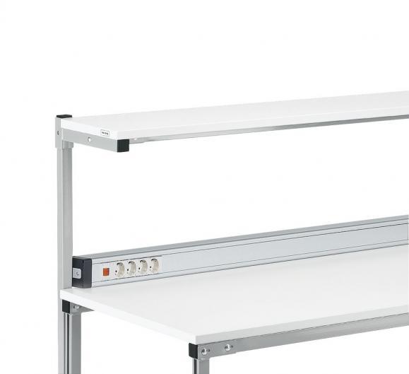 Energieleiste mit 3 m Zuleitung für Tischbreite 1200 mm | 1058