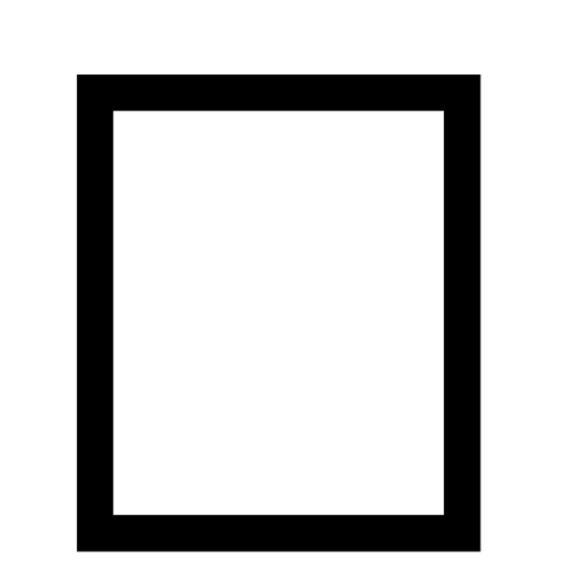 Bodenschutzmatte für Teppichböden Schwarz | Form E - 1168 x 1524 mm | für Teppichböden, mit Noppen