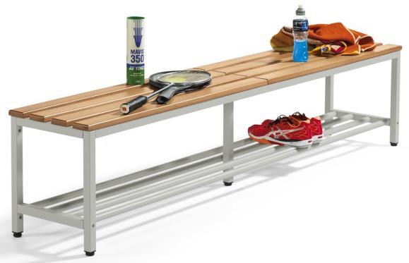 Sitzbänke PROFI mit Holzleisten