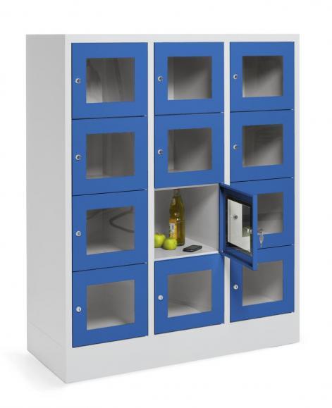 Schließfachschränke COLOR mit Sichtfenstertüren | bequem online ...