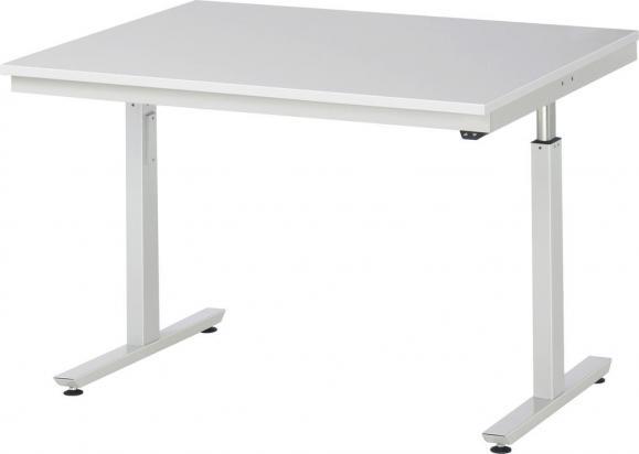 Werkbank SERIE E3 - Flächenlast bis zu 300 kg 1250   1000   Melaminharz-Platte   300