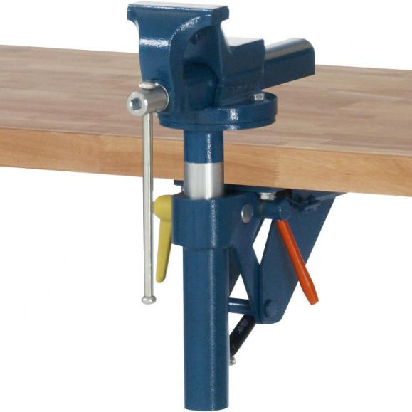 Schraubstock 120 mm mit Klapplift