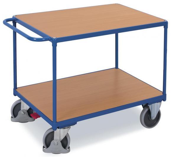 Tischwagen 2 Ladeflächen verschweißt