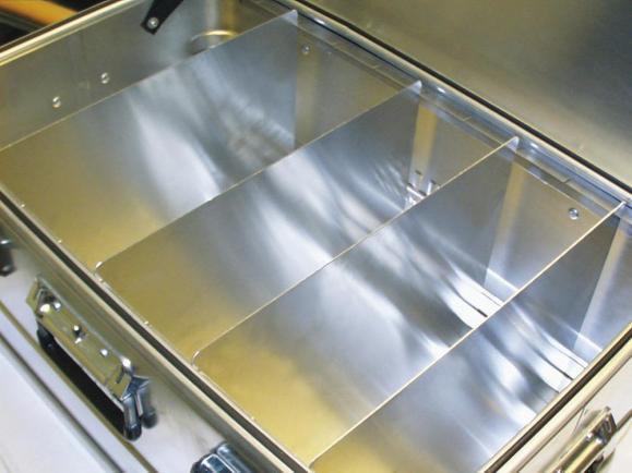 Trennwand-Set für Aluminiumkisten