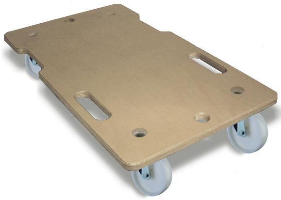 Allzweckroller Platte aus MDF, Tragkraft 150 Kg