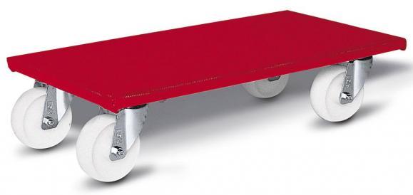 Möbelhund-Transportroller, Tragkraft 500 kg Orange | 145 | 600 | Kunststoff (PP)