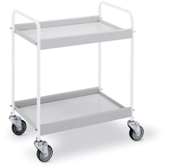 Tischwagen mit 4 Lenkrollen - Tragkraft 75 kg