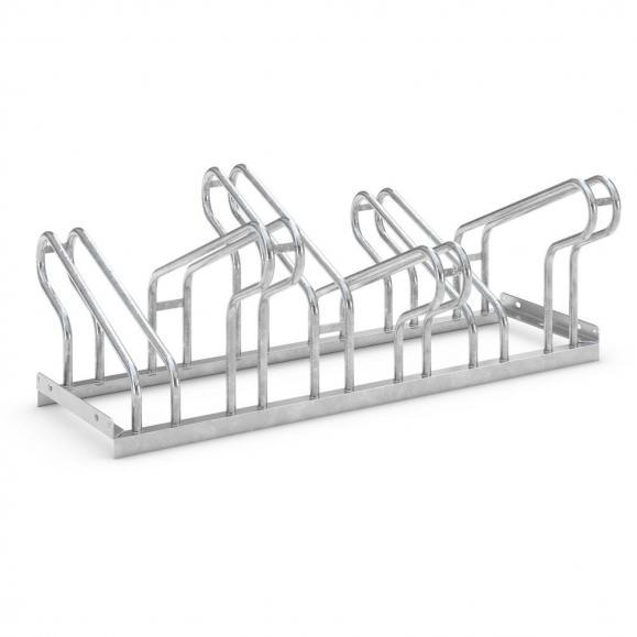 Reihen-Fahrradständer verschweißte Ausführung   zweiseitige Radeinstellung   6