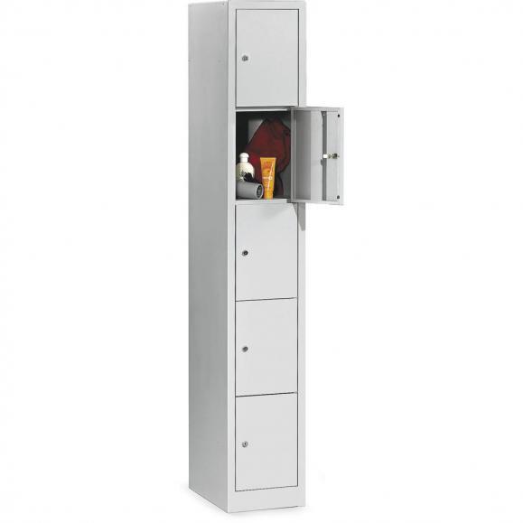Garderoben-/Schließfachschrank SP3 Lichtgrau RAL 7035   310   5