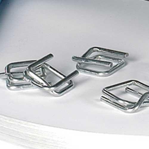 Metallklammern für Polyester-Kraftband