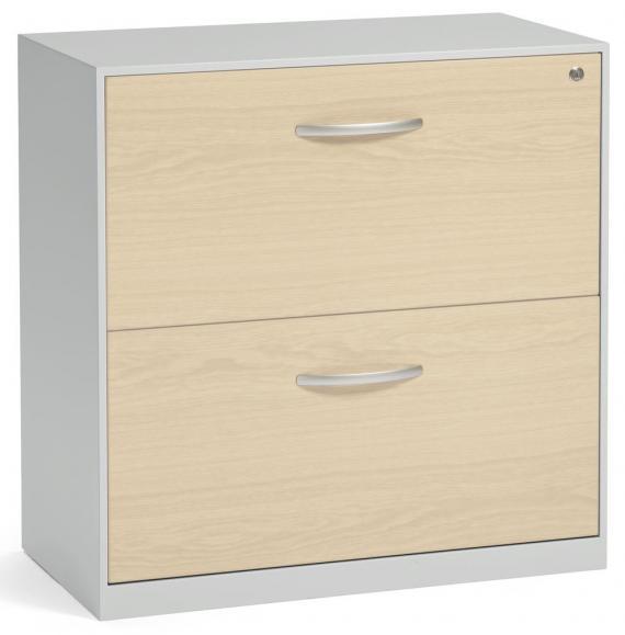 Hängeregistraturschrank DELTAFLEXX Ahorndekor | 837 | Schubladen Holz