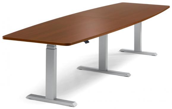 XXL Sitz-/ Stehbesprechungstisch, höhenverstellbar Calvados | 3200
