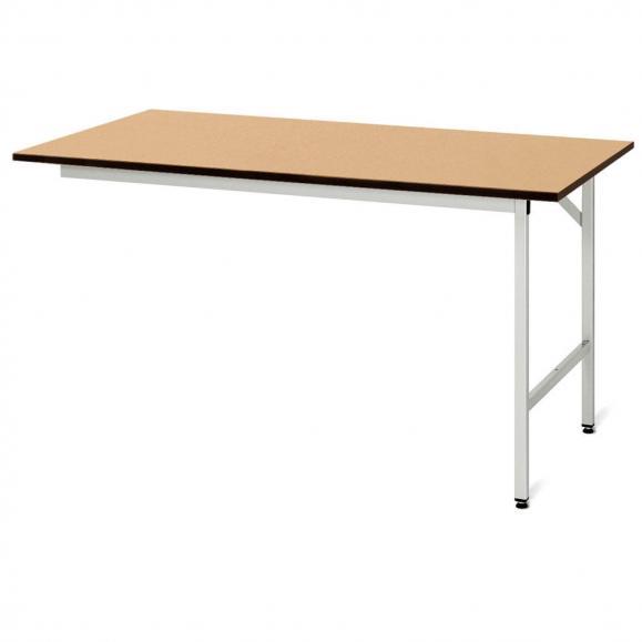 Arbeitstisch SYSTEM VK3060, Tischgestell 1 2000 | 1000 | Anbautisch | MDF-Platte
