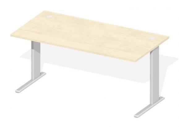 Schreibtisch BASIC M BASE LINE Ahorndekor   1600