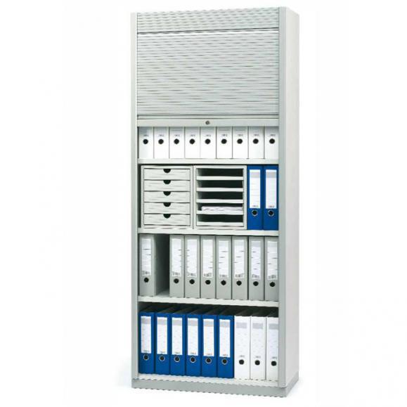 Rollladenschrank PROFI MODUL Schrankwand Weiß | 800 | Rollladenelement | 1860 mm (4+1/2 OH)
