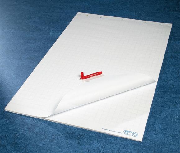 Flipchartpapier kariert