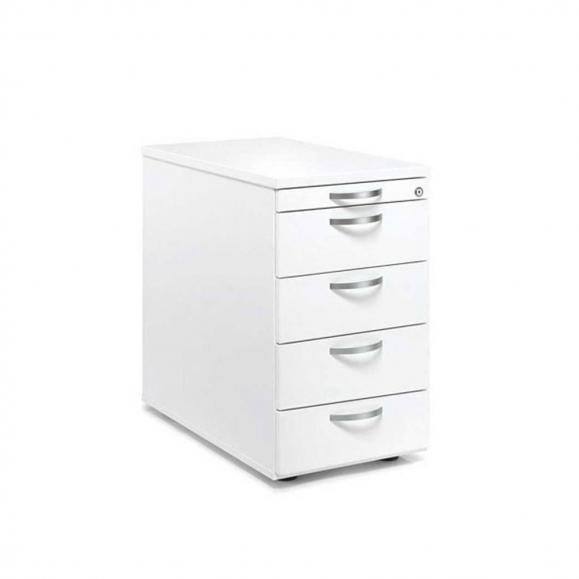 Standcontainer PROFI MODUL Weiß | 600 | 4 Schübe